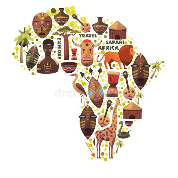 map-africa-vector-icons-masks-music-animals-people-safari-travel-adventure-map-africa-vector-icons-masks-music-111744653